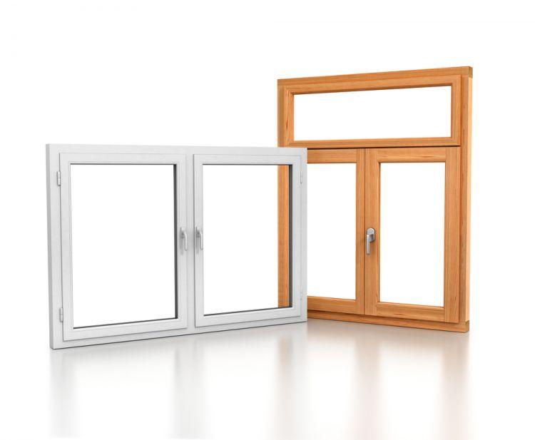 Пластиковое или деревянное окно